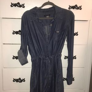 TOMMY denim dress! Never worn! So comfy!